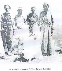 Mîr Alî Beg (mitte), Großvater von Mîr Thasîn Beg Foto  Gertruda Bell