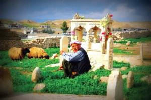 Esidischer Friedhof in der Heimat