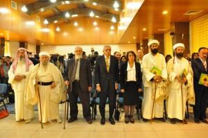 Der religiöse Rat der Esiden in Amed 2012 mit Mîr Tahsîn Saîd Beg