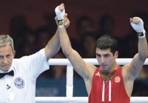 Mischa Aloyan bei einem seiner Olympia-Siege 2012 in London
